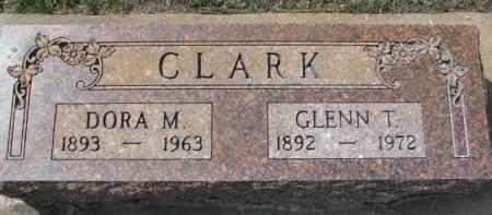 CLARK, DORA M. - Yankton County, South Dakota | DORA M. CLARK - South Dakota Gravestone Photos