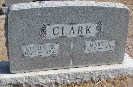 CLARK, MARY A. - Yankton County, South Dakota | MARY A. CLARK - South Dakota Gravestone Photos