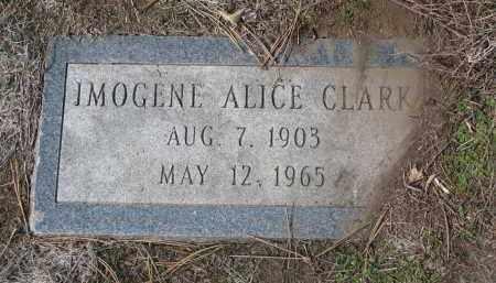 CLARK, IMOGENE ALICE - Yankton County, South Dakota   IMOGENE ALICE CLARK - South Dakota Gravestone Photos
