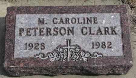 CLARK, M. CAROLINE - Yankton County, South Dakota | M. CAROLINE CLARK - South Dakota Gravestone Photos