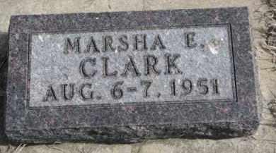 CLARK, MARSHA E. - Yankton County, South Dakota | MARSHA E. CLARK - South Dakota Gravestone Photos