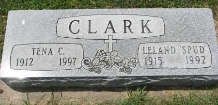 CLARK, TENA C. - Yankton County, South Dakota | TENA C. CLARK - South Dakota Gravestone Photos