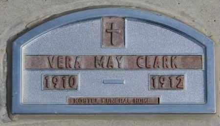 CLARK, VERA MAY - Yankton County, South Dakota | VERA MAY CLARK - South Dakota Gravestone Photos