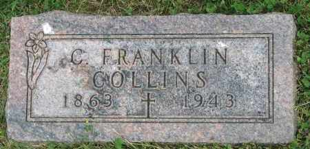 COLLINS, C. FRANKLIN - Yankton County, South Dakota | C. FRANKLIN COLLINS - South Dakota Gravestone Photos