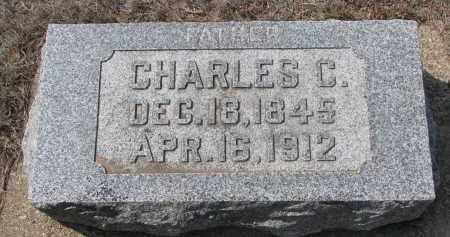 COOK, CHARLES C. - Yankton County, South Dakota | CHARLES C. COOK - South Dakota Gravestone Photos