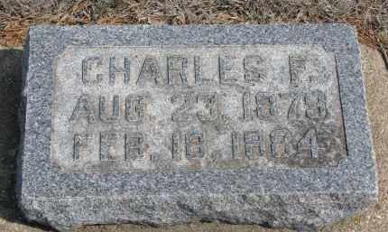 COOK, CHARLES F. - Yankton County, South Dakota   CHARLES F. COOK - South Dakota Gravestone Photos
