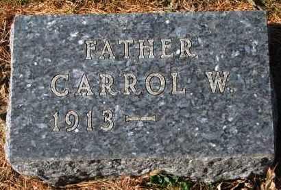 COOK, CARROL W. - Yankton County, South Dakota | CARROL W. COOK - South Dakota Gravestone Photos
