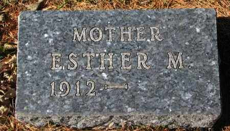 COOK, ESTHER M. - Yankton County, South Dakota | ESTHER M. COOK - South Dakota Gravestone Photos