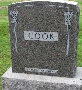 COOK, FAMILY STONE - Yankton County, South Dakota   FAMILY STONE COOK - South Dakota Gravestone Photos