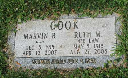 COOK, MARVIN R. - Yankton County, South Dakota | MARVIN R. COOK - South Dakota Gravestone Photos