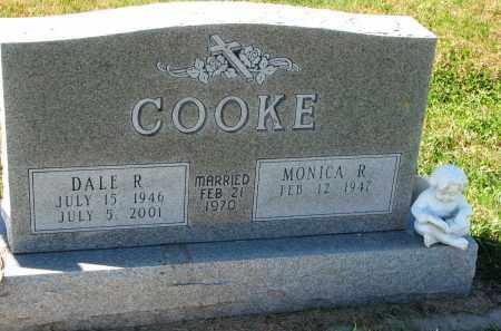 COOKE, MONICA R. - Yankton County, South Dakota | MONICA R. COOKE - South Dakota Gravestone Photos