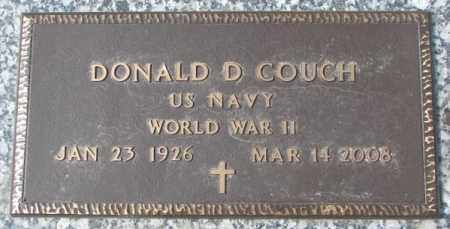 COUCH, DONALD D. (WW II) - Yankton County, South Dakota | DONALD D. (WW II) COUCH - South Dakota Gravestone Photos