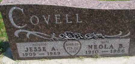 COVELL, JESSE A. - Yankton County, South Dakota | JESSE A. COVELL - South Dakota Gravestone Photos