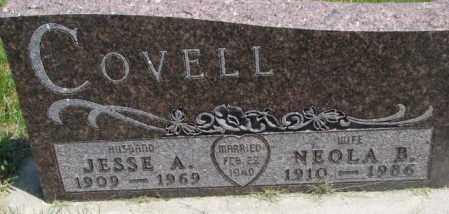 COVELL, NEOLA B. - Yankton County, South Dakota | NEOLA B. COVELL - South Dakota Gravestone Photos