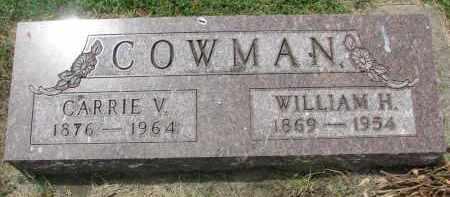 COWMAN, WILLIAM H. - Yankton County, South Dakota | WILLIAM H. COWMAN - South Dakota Gravestone Photos