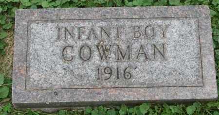 COWMAN, INFANT BOY - Yankton County, South Dakota   INFANT BOY COWMAN - South Dakota Gravestone Photos