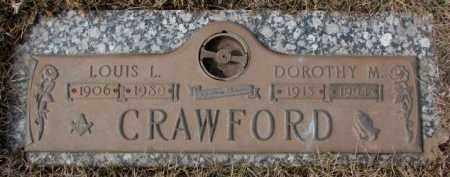 CRAWFORD, DOROTHY M. - Yankton County, South Dakota | DOROTHY M. CRAWFORD - South Dakota Gravestone Photos