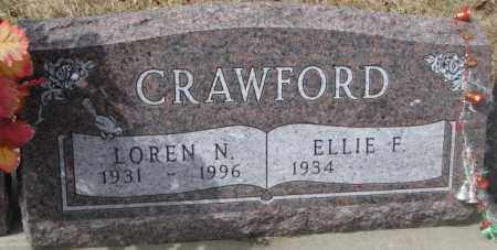 CRAWFORD, ELLIE F. - Yankton County, South Dakota   ELLIE F. CRAWFORD - South Dakota Gravestone Photos