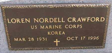 CRAWFORD, LOREN NORDELL (KOREA) - Yankton County, South Dakota | LOREN NORDELL (KOREA) CRAWFORD - South Dakota Gravestone Photos