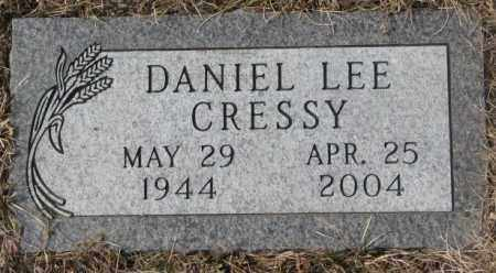 CRESSY, DANIEL LEE - Yankton County, South Dakota | DANIEL LEE CRESSY - South Dakota Gravestone Photos