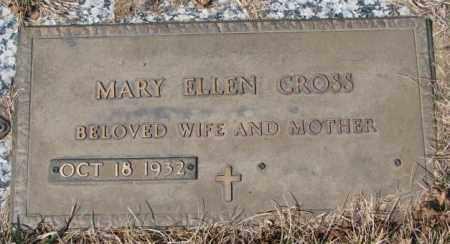 CROSS, MARY ELLEN - Yankton County, South Dakota | MARY ELLEN CROSS - South Dakota Gravestone Photos