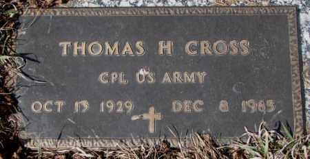 CROSS, THOMAS H. - Yankton County, South Dakota | THOMAS H. CROSS - South Dakota Gravestone Photos