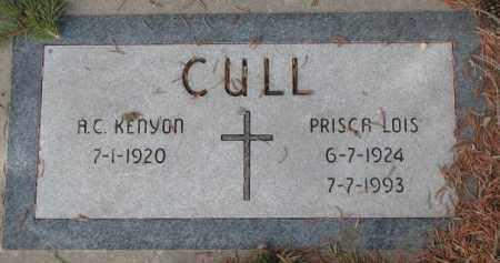 CULL, A.C. KENYON - Yankton County, South Dakota | A.C. KENYON CULL - South Dakota Gravestone Photos