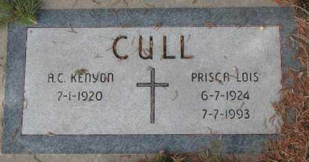 CULL, A.C. KENYON - Yankton County, South Dakota | A.C. KENYON CULL - South Dakota Gravestone Photos