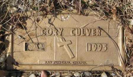 CULVER, CORY - Yankton County, South Dakota | CORY CULVER - South Dakota Gravestone Photos