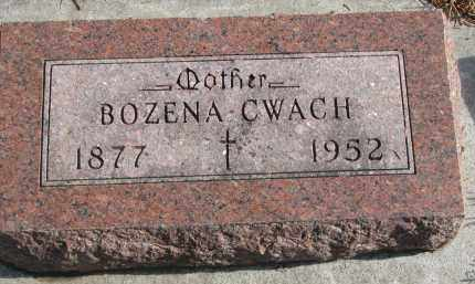 CWACH, BOZENA - Yankton County, South Dakota | BOZENA CWACH - South Dakota Gravestone Photos