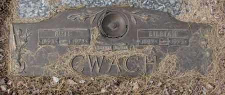 CWACH, LILLIAN - Yankton County, South Dakota | LILLIAN CWACH - South Dakota Gravestone Photos