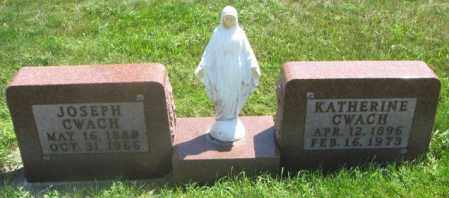 CWACH, JOSEPH - Yankton County, South Dakota   JOSEPH CWACH - South Dakota Gravestone Photos
