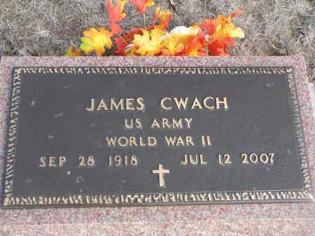 CWACH, JAMES - Yankton County, South Dakota | JAMES CWACH - South Dakota Gravestone Photos