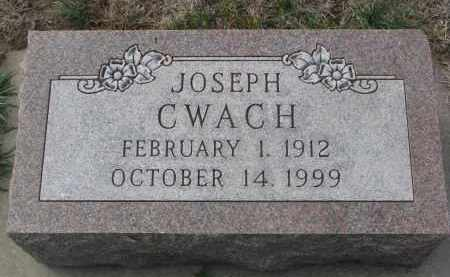 CWACH, JOSEPH - Yankton County, South Dakota | JOSEPH CWACH - South Dakota Gravestone Photos