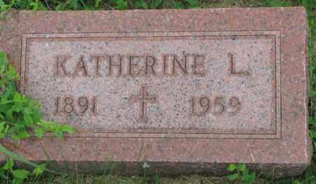 CWACH, KATHERINE L. - Yankton County, South Dakota | KATHERINE L. CWACH - South Dakota Gravestone Photos