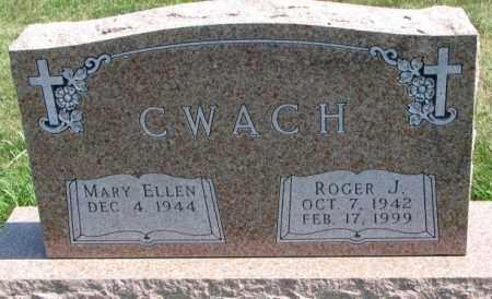 CWACH, ROGER J. - Yankton County, South Dakota | ROGER J. CWACH - South Dakota Gravestone Photos