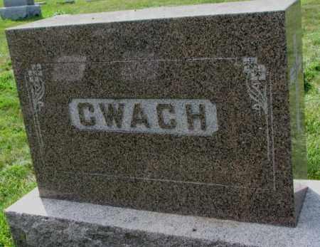 CWACH, PLOT - Yankton County, South Dakota | PLOT CWACH - South Dakota Gravestone Photos