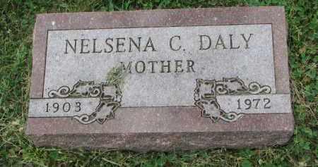 DALY, NELSENA C. - Yankton County, South Dakota | NELSENA C. DALY - South Dakota Gravestone Photos