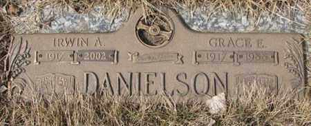 DANIELSON, IRWIN A. - Yankton County, South Dakota   IRWIN A. DANIELSON - South Dakota Gravestone Photos
