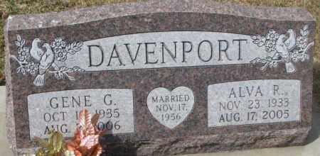DAVENPORT, GENE G. - Yankton County, South Dakota   GENE G. DAVENPORT - South Dakota Gravestone Photos