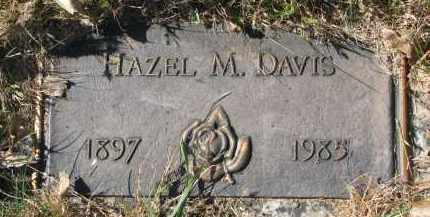 DAVIS, HAZEL M. - Yankton County, South Dakota | HAZEL M. DAVIS - South Dakota Gravestone Photos