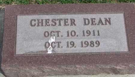 DEAN, CHESTER - Yankton County, South Dakota | CHESTER DEAN - South Dakota Gravestone Photos