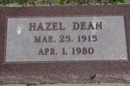 DEAN, HAZEL - Yankton County, South Dakota | HAZEL DEAN - South Dakota Gravestone Photos