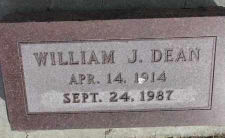 DEAN, WILLIAM J. - Yankton County, South Dakota | WILLIAM J. DEAN - South Dakota Gravestone Photos