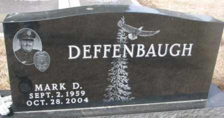 DEFFENBAUGH, MARK D. - Yankton County, South Dakota   MARK D. DEFFENBAUGH - South Dakota Gravestone Photos