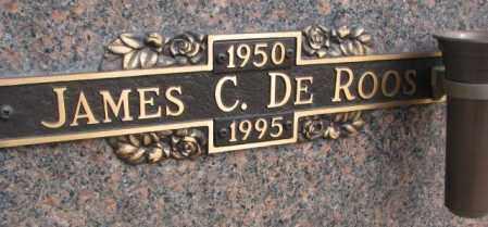 DEROOS, JAMES C. - Yankton County, South Dakota | JAMES C. DEROOS - South Dakota Gravestone Photos