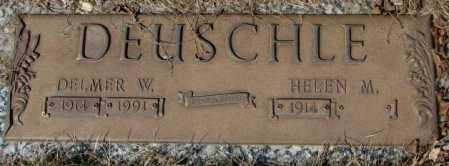 DEUSCHLE, DELMER W. - Yankton County, South Dakota | DELMER W. DEUSCHLE - South Dakota Gravestone Photos