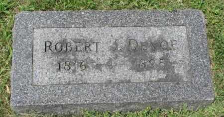 DEVOE, ROBERT J. - Yankton County, South Dakota | ROBERT J. DEVOE - South Dakota Gravestone Photos