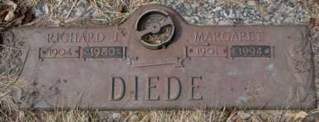 DIEDE, RICHARD J. - Yankton County, South Dakota   RICHARD J. DIEDE - South Dakota Gravestone Photos