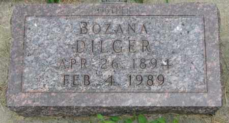DILGER, BOZANA - Yankton County, South Dakota | BOZANA DILGER - South Dakota Gravestone Photos